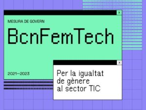 Més dones al sector tecnològic, menys bretxa digital de gènere