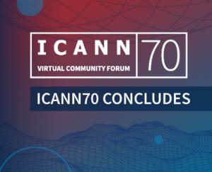 Primera reunió anual de l'ICANN70